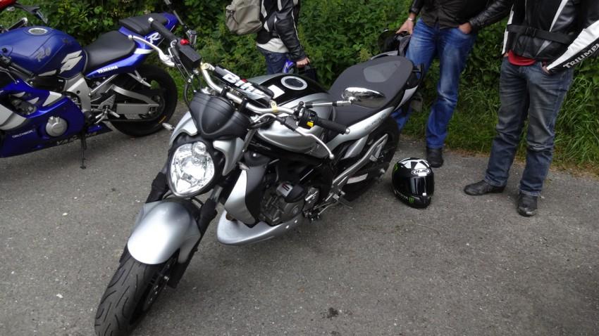 Suzuki Gladius de Jérome