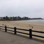 Sortie moto en Bretagne, bord de mer
