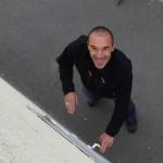 Franck, heureux, va faire pipi au Karting de Laval ;)