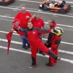 As Karting de Laval reçoit les motards rennais