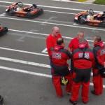 Line up au karting de laval