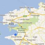 Bretagne, Douarnenez, plage des sables blancs