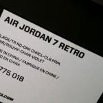 Nike Air jordan VII Raptor Rennes