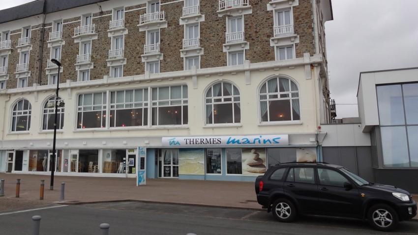 façade extérieure thalasso perros guirec