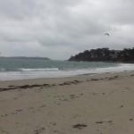 vue plage depuis la thalasso de perros guirec