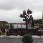 vue depuis le Castel, hôtel 4 étoiles