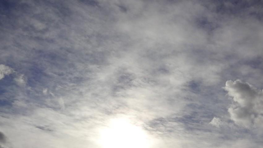 ciel à Saint-grégoire lé 2 décembre 2012
