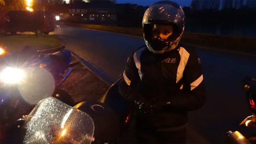 Virigine motarde débutante mais passionnée