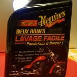 Lavage 2 roues facile : Meguiar's