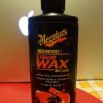 Liquid Wax Meguiars pour entretenir sa moto