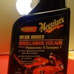 Brillance moto facilement Meguiars nettoyage de sa moto