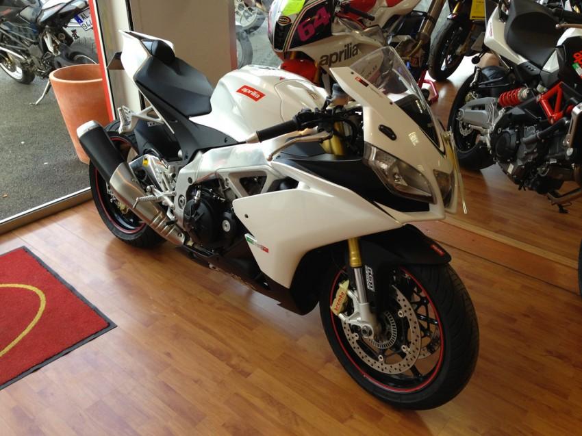 Aprilia RSV 4 APRC Rennes : concession moto passion