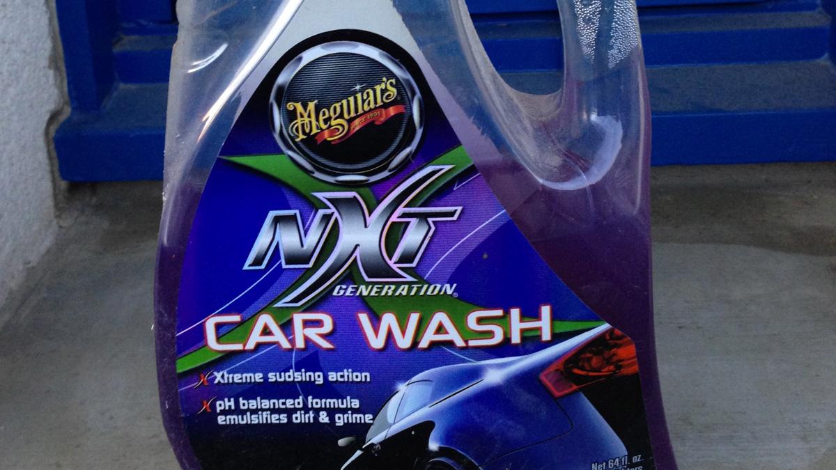 NXT Meguiar's : shampoing lavage moto et auto