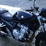 Bandit 650 N noire propre : Produits Meguiar's
