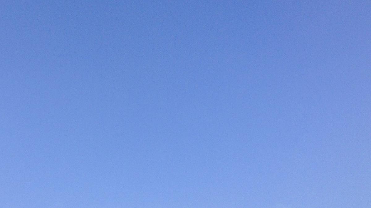ciel bleu : 24 mars 2013 à Rennes