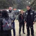 groupe de motard à Dinard