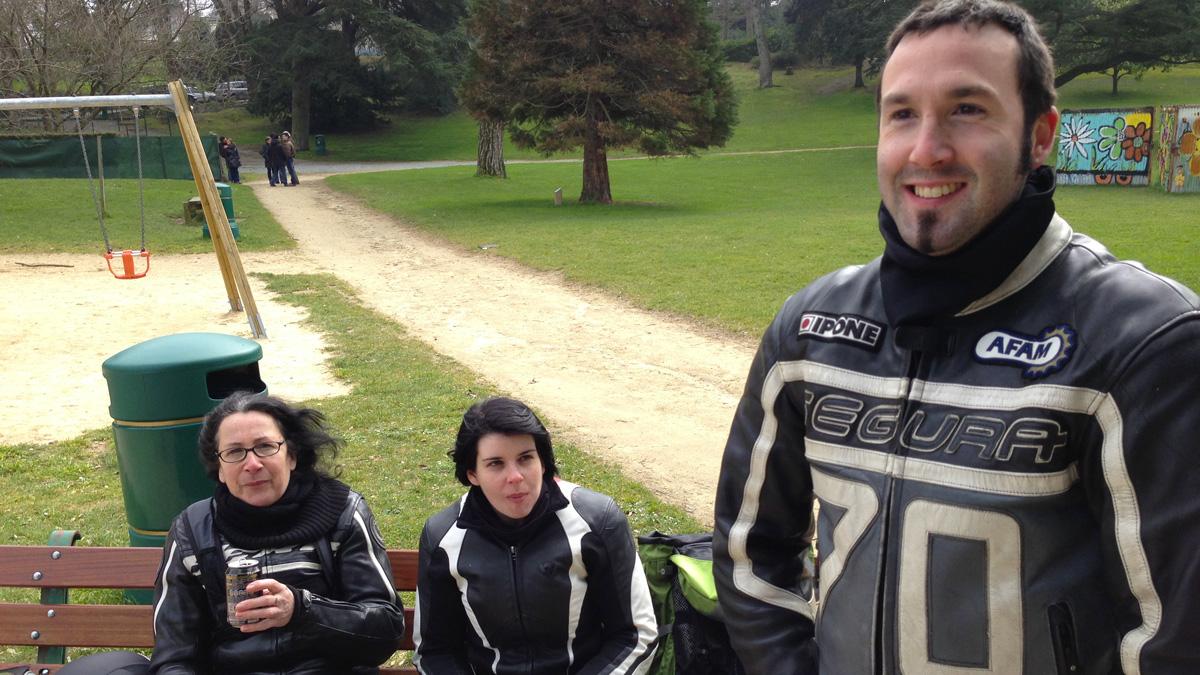 Martine, Camille et Marc de Laval