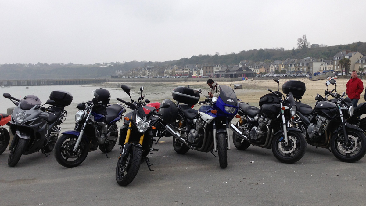 balade moto vers Cancale