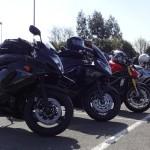 moto et sortie motard