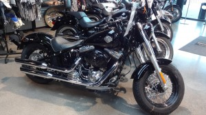 Harley Davidson Slim aux Portes de Bretagne