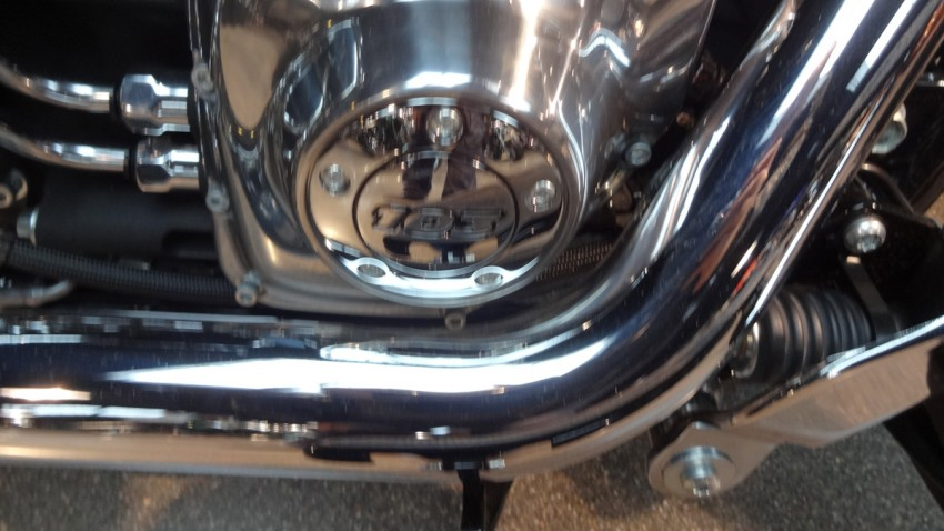 moteur 103 sur le Slim Harley Davidson