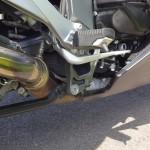 pédale droite sur le K1300GT BMW Rennes