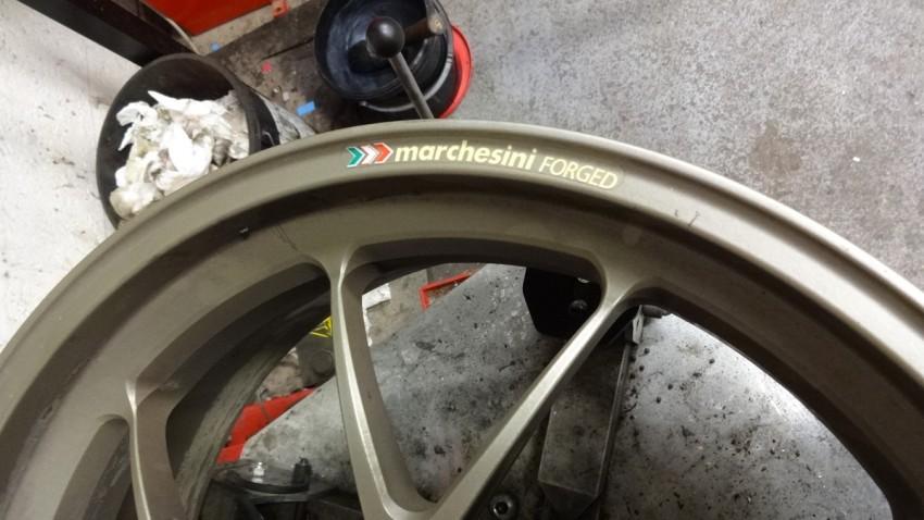 jante marchesini Ducati SF 1098 S