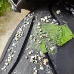 pneu colle à la route