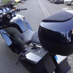 bagarrerie sur le BMW K1300GT