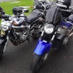 FZ6 et CB11 Honda Rennes