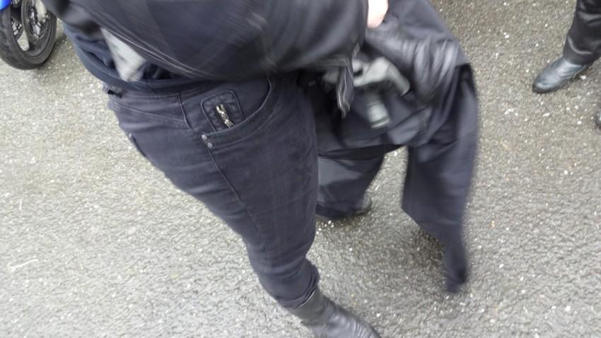 pantalon de pluie pour faire de la moto