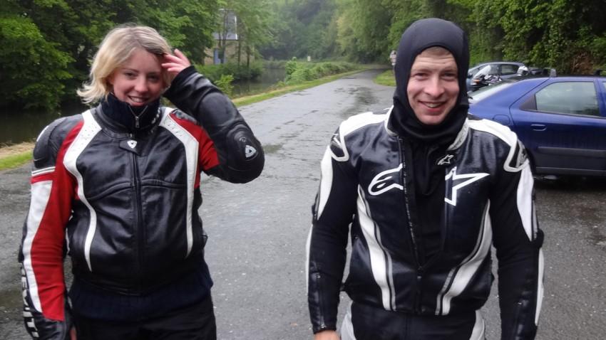 Couple motard Rennais de Chevaigné