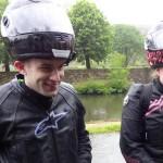 motards Rennais sous la pluie