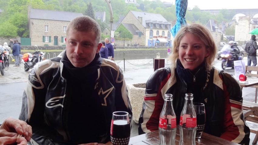 Mickaël et Anne Sophie (Motards Rennais)