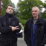 Lionel et Gilles, les potes motards