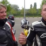 Couple motard à Rennes