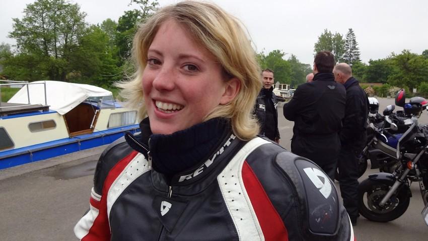 Anne Sophie : motarde depuis toujours