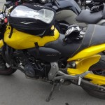 Honda hornet jaune