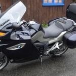 moto routière BMW