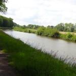 le halage du canal en Segway