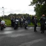 Cora de Pacé reçoit les motards Rennais