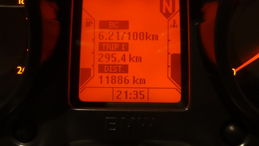 balade moto de 300km sur un seul plein d'essence