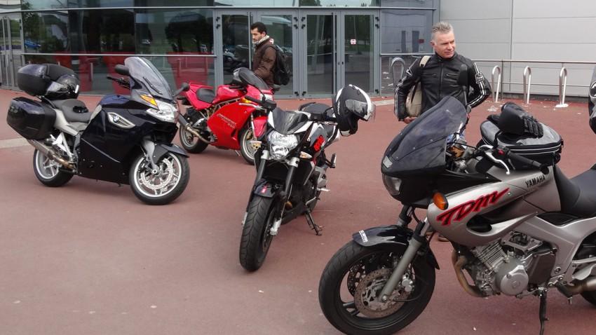 point de départ balade moto FFMC Rennes