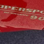 Ducati supersport 900 rouge