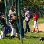 Joueur de Baseball Rennais