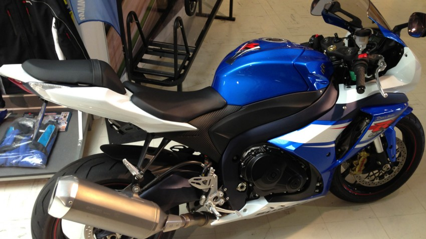 drym's moto : suzuki rennes