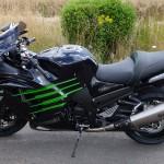 Moto kawasaki Rennes