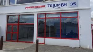 Concession Triumph moto à Rennes