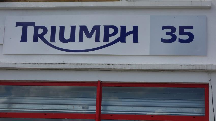 Triumph moto à Rennes