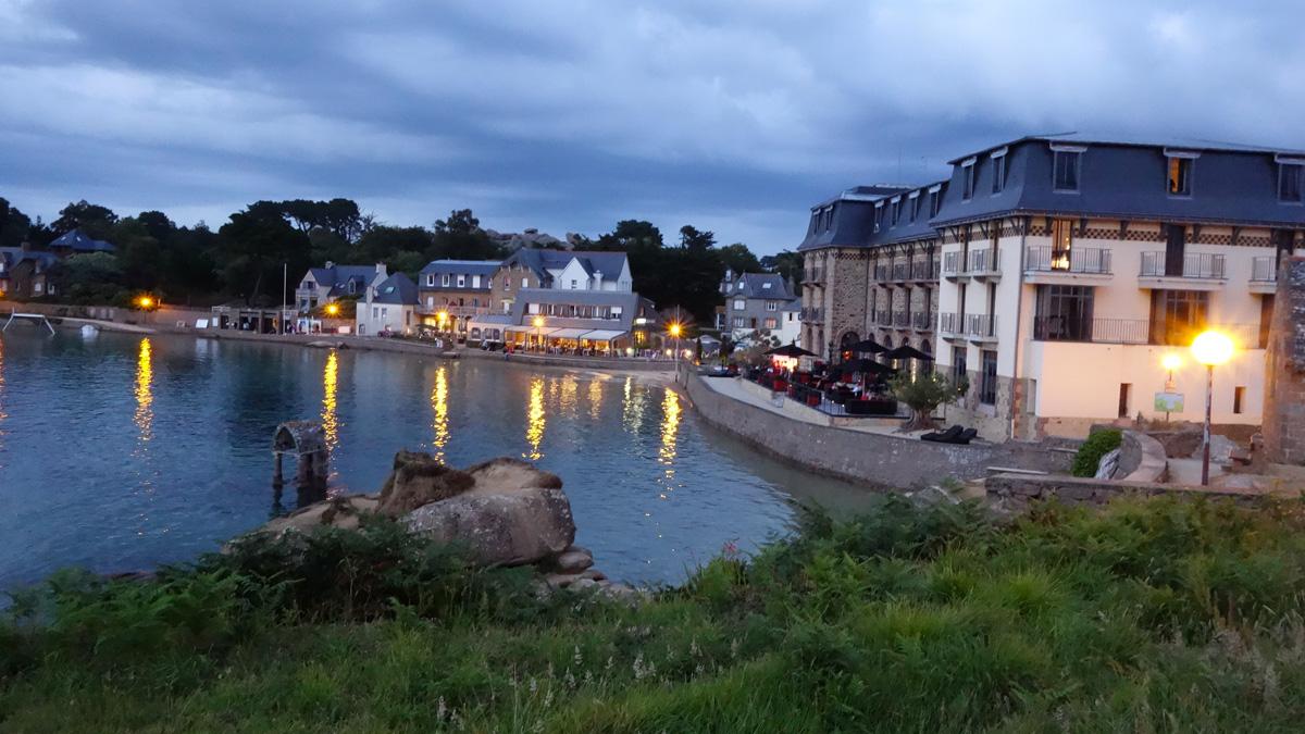 Saint-Guirec, dans les Côtes d'Armor